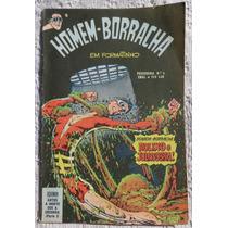 Homem-borracha Em Formatinho Nº 4 - Aquaman - Ebal - 1977