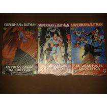 Superman E Batman Mini-serie Completa 3 Ediçoes Ed. Abril