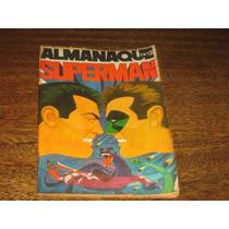 Almanaque Superman 1973 Editora Ebal Desenhos Jack Kirby