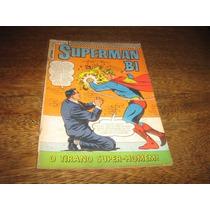 Superman Bi 1ª Série Nº 23 Novembro De 1968 Editora Ebal
