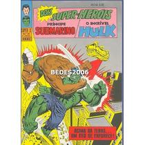 Super X - Namor & Hulk Nº 30 - Ebal - 1970 - Excelente!