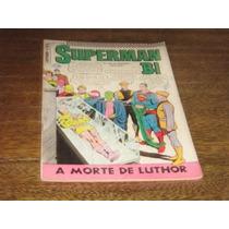 Superman Bi Nº 20 Maio /1968 Editora Ebal Original