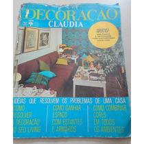 Revista Claudia Decoração Junho 1972