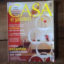 Revista Casa E Jardim - Lindas Estantes