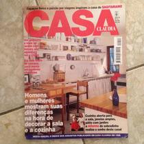 Revista Casa Claudia Nª12 12/1998 Cozinha Aberta