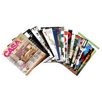 Varias Revistas Decoração Minha Casa Cláudia Jardim Decorar