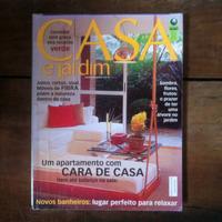 Revista - Casa E Jardim Apartamento Com Cara De Casa