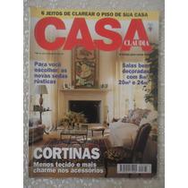 Casa Cláudia #395 Ano 1994 Cortinas, Salas