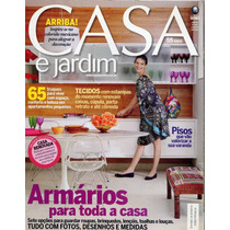 Revista Casa & Jardim - Agosto De 2008