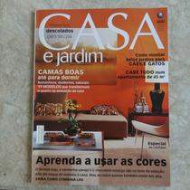 Revista Casa E Jardim No.595 Camas Cores Especial Colchões