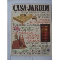 Revista Casa E Jardim N 258 Julho De 1976