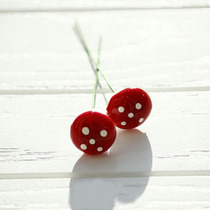 10 Mini Cogumelos Decoração De Jardim