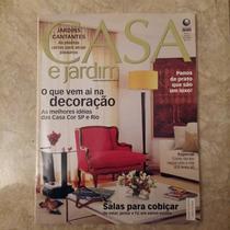 Revista Casa E Jardim Casa Cor Salas Decoração N597