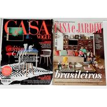 2 Revistas Casa Vogue+casa & Jardim