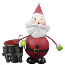 Papai Noel Natal Natalino Kit Com 5 Uni Decoracao Enfeite