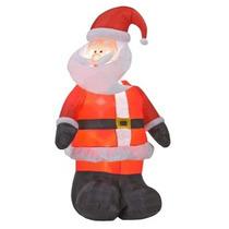 Inflável Para Decoração De Natal Papai Noel Gigante 2,15 Mts