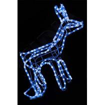 Rena Iluminada De Led Azul 196 Lampadas Decoracao De Natal