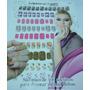117 Adesivos Unha Inteira Onça M01 Makep Nails Frete Gratis