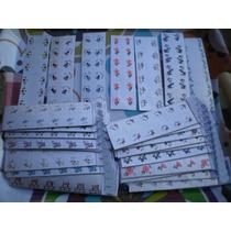 Adesivos Artesanais Para Unhas 10 Cartelas Com 120 Decalques