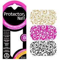 Protector Nail Película Protetora Para Esmalte - Estampa 08