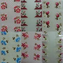 50 Cartelas De Adesivo Artesanal Lindos Modelos