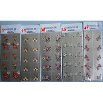Adesivos Artesanais Para Unhas 25 Cartelas Com 10 Decalques.