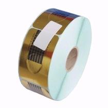 500 Moldes Adesivos De Papel Para Unha De Porcelana E Gel