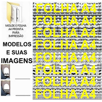 Kit Imagens 48 Francesinhas Tirinhas +brinde Películas Unhas
