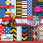 26 Itens Kit Digital Editavel Scrapbook Chuck Arte