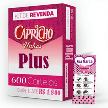 Kit Revenda Cartelas Adesivos Películas Apenas R$0,83+barato