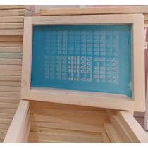Kit 3 Telas Para Peliculas Unha De Renda + 3 Tintas + 1 Rodo