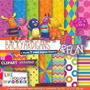 32 Itens Kit Digital Editavel Scrapbook Backyardigans Arte