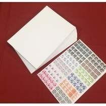50 Folhas Imprimir Adesivos Unhas Peliculas Gel - Com Verniz
