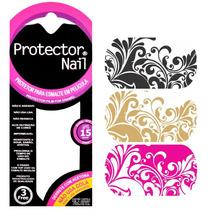 Protector Nail Película Protetora Para Esmalte - Estampa 05