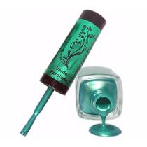 Esmalte Verde Para Carimbo La Femme 9ml