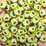 Fatias De Fimo Decoração De Unhas Frutas Pera Nail Art