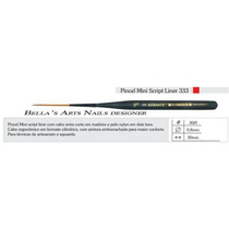 Pincel Para Carga Dupla / One Stroke Keramik 333-30/0