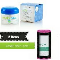 Acrygel Clear + Selante Uv (2 Itens) Star Nail