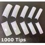 1000 Tips Unha Postiça Gel Acrigel Acrilica Acrygel Sorriso
