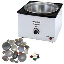 Aquecedor De Pedras Quentes E Cera /termocera 2,5k+10 Pedras