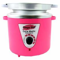 Termocera Profissional C/ Refil 900gr Rosa - Panela P/ Cera