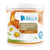 Depil Bella Cera Hidrossolúvel Camomila E Açúcar 500g D