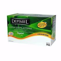 Cera Para Depilação 1kg - Depimiel Vegetal Sistema Espanhol