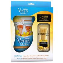 Aparelho De Depilação Gillette Venus Malibu + Ampola Pantene