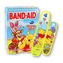 Band Aid Disney Winnie The Pooh - Caixa Com 20 Unidades
