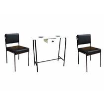 Kit Manicure, Mesa De Manicure + 2 Cadeiras