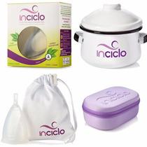 Kit Inciclo A: Panelinha + Saquinho + Necesserie + Coletor