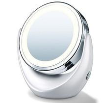 Espelho De Aumento Com Luz 2 Faces Excelente Qualidade