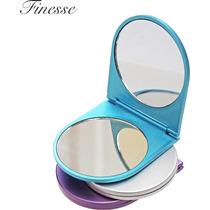 Espelho De Maquiagem Compact - Finesse Folding Viagem Handy