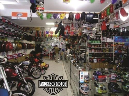 Descanço Lateral Pé De Águia Moto Custom.